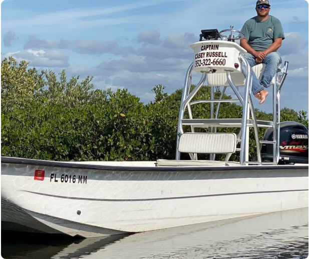 A picture of Boat with Crystal River Fishing Charters